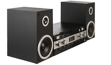 Dual DAB-MS 130 CD Stereoanlage (DAB(+)-/UKW-Tuner, CD-Player, Musikstreaming via Bluetooth, USB-Anschluss, AUX-IN-Anschluss, Fernbedienung) Schwarz - 6