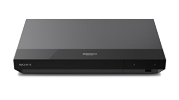 Sony UBP-X700 4K Ultra HD Blu-ray Disc Player (4K HDR, 4K Streaming Dienste, Super Audio CDs (SACD), USB, WiFi, HDMI) Schwarz - 9