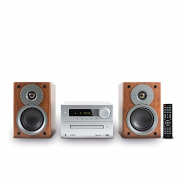 HAISER HSR 117 | 40 Watt RMS mit • CD-Player • Bluetooth • USB • Boxen • FM Radio | HiFi Component System - 1